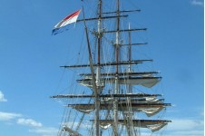 Stad Amsterdam moored